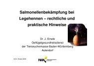 Salmonellenbekämpfung bei Legehennen – rechtliche ... - Naturland