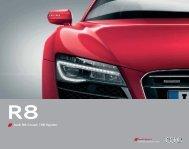 Audi R8 Coupé | R8 Spyder - Audi.ru