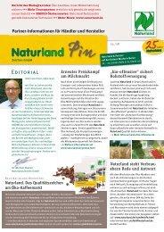 """""""bio-offensive"""" sichert Rohstoffversorgung - Naturland"""