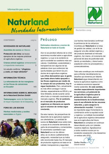 Hage clic aquí para descargar Naturland Novedades Internacionales