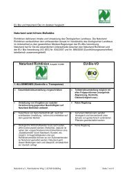 Das Richtlinienverständnis - Naturland