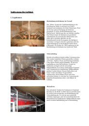 Stallsysteme für Geflügel - Naturland