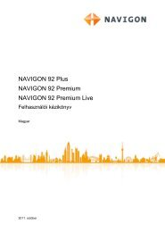 NAVIGON 92 Plus   92 Premium   92 Premium Live
