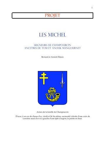 Les Michel - PAGES GENEALOGIqueS d'ANNICK et Bernard DIMON