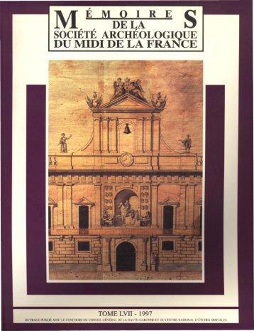 memoires dela société archéologique du midi de la france