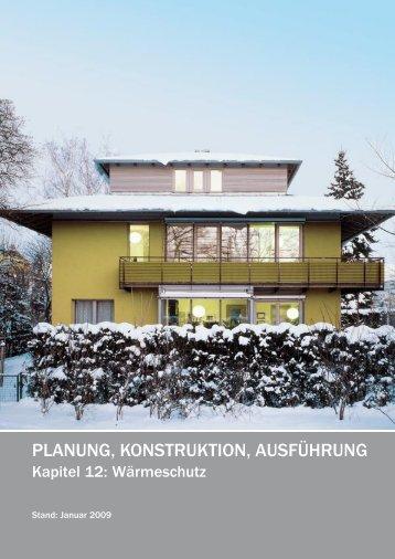 Planung, Konstruktion, Ausführung - Niedrig Energie Institut