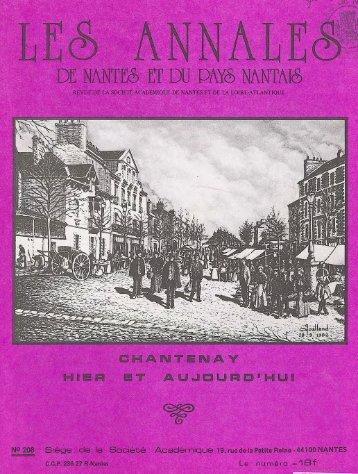 Annales - Archives municipales de Nantes