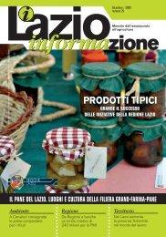 PRODOTTI TIPICI - Agricoltura - Regione Lazio