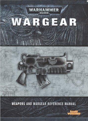 WarHammer 40k [Codex] WarGear ISBN 5-011921-912346 - Lski.org