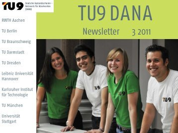 TU9 DANA Newsletter 03/2011