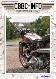 HMV - Rennen in Mill (NL) - CBBC - Classic British Bike Club
