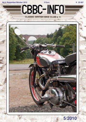 HMV - Rennen in Mill (NL) - CBBC - Classic British Bike Club