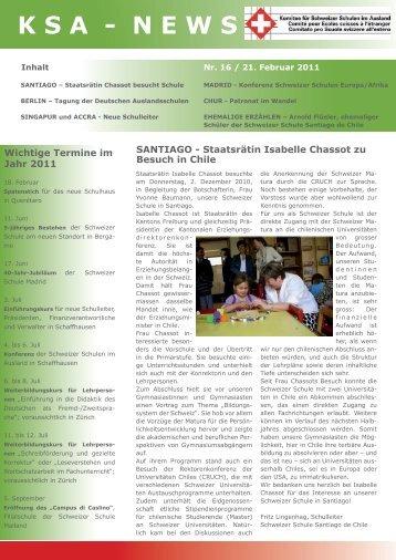 KSA - NEWS - educationsuisse