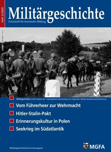 Vom Führerheer zur Wehrmacht Hitler-Stalin-Pakt ... - MGFA