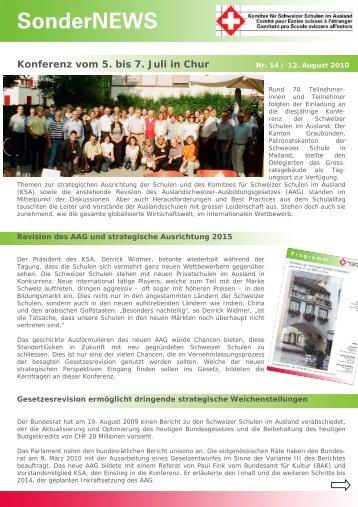 SonderNEWS - educationsuisse