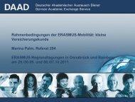 Krankenversicherung im Rahmen eines DAAD-Postdoc-Stipendiums