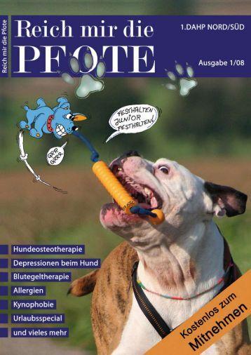 Pfoten-News Tierheilkundezentrum Bad Driburg Kalender 2008