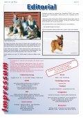 Pfoten-News Tierheilkundezentrum Bad Driburg Kalender 2008 - Seite 3