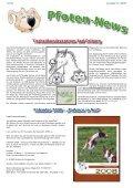 Pfoten-News Tierheilkundezentrum Bad Driburg Kalender 2008 - Seite 4