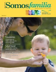 Revista Somos Familia -  Hospital de los Valles