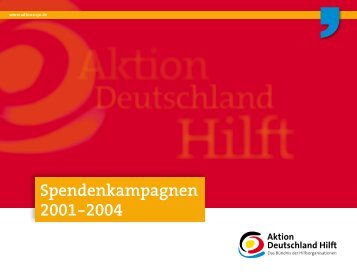 Irak - Aktion Deutschland Hilft