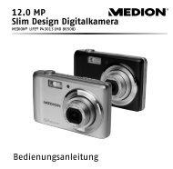 Bedienungsanleitung 12.0 MP Slim Design Digitalkamera - Medion