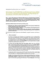 Download: Pressemitteilung 03/2012 - Diätverband eV