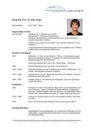 Download: Lebenslauf Prof. Dr. Elke Jäger