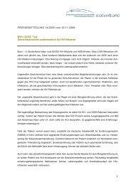 Download: Pressemitteilung 14/2009