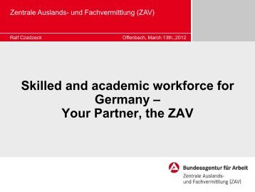 What EURES Germany (ZAV) - Rekry-Amare