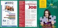 Fit für den Job – Förderung nutzen - Marktplatz Bildung