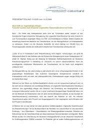 Download: Pressemitteilung 11/2009