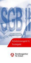 Merkblatt SGB II/Sozialgeld - Bundesagentur für Arbeit