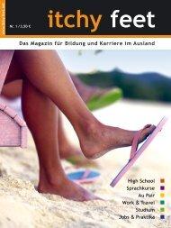 Das Magazin für Bildung und Karriere im Ausland - Itchy-feet