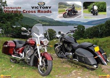 Fahrbericht Victory Cross Roads - Bikers Power