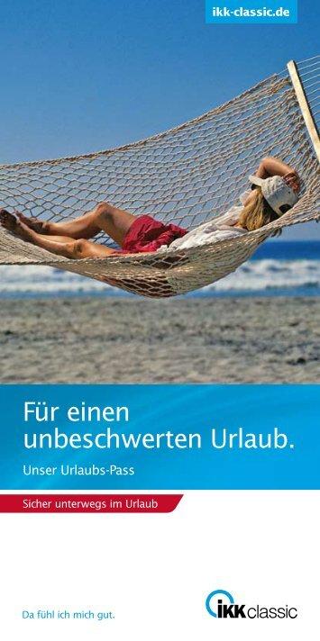 Unser Urlaubs-Pass - Wende Verlag Moderne Medien