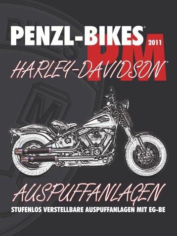 STUFENLOS VERSTELLBARE AUSPUFFANLAGEN ... - Penzl-Bikes