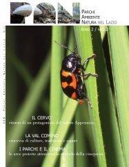 Scarica la rivista [ 12042 Kb ] - Parchi e Riserve naturali del Lazio