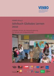 Jahrbuch Globales Lernen 2010 - Venro
