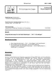 Integrationskonzept - Grundlagen - Stadt Waiblingen