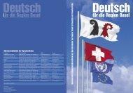 für die Region Basel für die Region Basel - Integration Basel