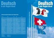 Adressverzeichnis Deutsch in der Region Basel