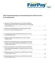 AGB, Teilnahmebedingungen und ... - FairPay - Conrad
