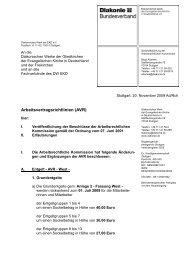 Rundschreiben vom 20.11.2009 - Diakonie Deutschland