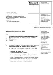 Rundschreiben vom 25.11.2009 - AG MAV Diakonische Werke ...