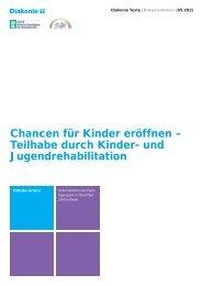 und Jugendrehabilitation - Diakonie Deutschland