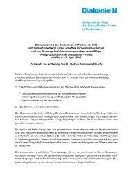 Stellungnahme (PDF, 83 KB) - Diakonie Deutschland