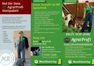 Infofolder Soziale- / Entlastungsbetriebshilfe - Maschinenring ...
