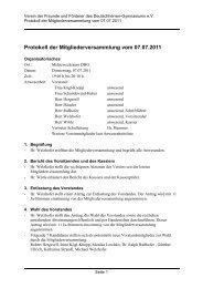 Protokoll der Mitgliederversammlung vom 07.07.2011 - dhg ...