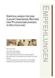 Empfehlungen zur Reform der Pflegeausbildungen - Diakonie ...